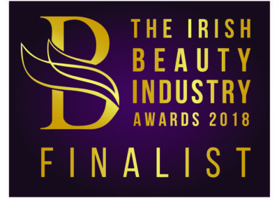 Finalist Irish Beauty Industry Awards 2018